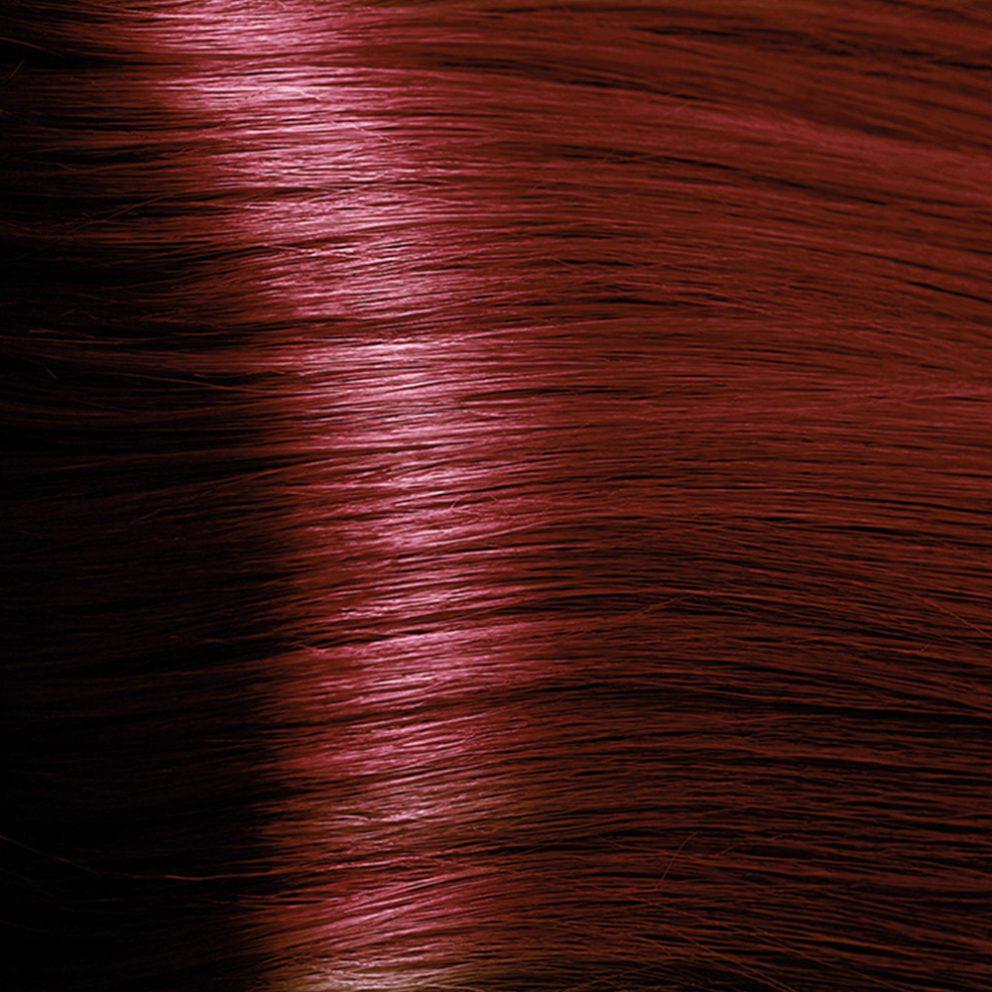 Vzorník vlasů henna wine red